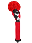 Just4Golf Red/Black Diamond Hybrid Headcover