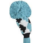 Just4Golf Sparkle Turquoise Diamond Hybrid Headcover