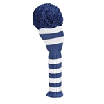 Just4Golf Driver Navy Stripe Headcover