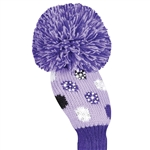 Just4Golf Sparkle Purple Dot Hybrid Headcover