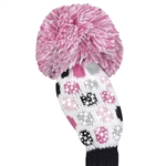 Just4Golf Luxe Small Dot White Fairway Headcover
