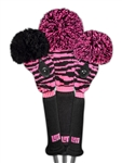Loudmouth Pink Tarzan Head Cover Set (3pc)