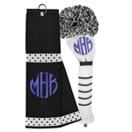 Just4Golf Golf Towel & Headcover Set