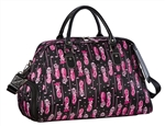 Sydney Love Shoulder Shoe Bag - Fuchsia Golf Bag