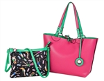 Sydney Love Reversible Tote with Inner Pouch - 