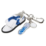 Sydney Love Blue Golf Shoe Keychain