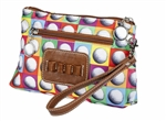 Sydney Love Cosmetic Bag with Tee Holder - On the Ball