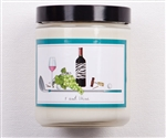 Bloom Designs Ladies Golf Candle- Nine+Wine | Golf4Her