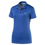Puma Pounce Short Sleeve Golf Polo - True Blue