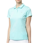 Puma Pounce Short Sleeve Golf Polo - Aruba Blue