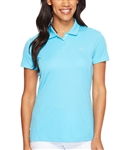 Puma Pounce Short Sleeve Golf Polo - Blue Atoll