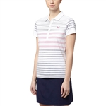 Puma Dot Stripe Polo - Peacoat