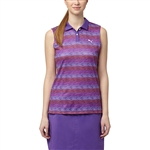 Puma Roadmap Sleeveless Golf Polo - Royal Purple