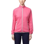 Puma Full Zip Shocking Pink Wind Jacket
