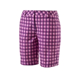 Puma Pounce Patterned Bermuda Golf Short - Royal Purple