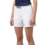 "Puma Solid Shorter 5"" Golf Short - Bright White"
