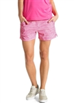 "Puma Printed 5"" Golf Short - Shocking Pink"