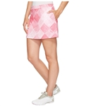 Puma Crosshatch Knit Golf Skirt - Shocking Pink