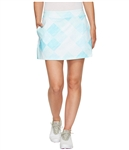 Puma Crosshatch Knit Golf Skirt - Aruba Blue