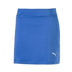 Puma Youth Girls Solid Knit Golf Skort - Nebulous Blue