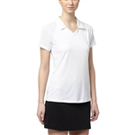 Puma Mesh Back Golf Polo - Bright White