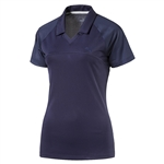 Puma Mesh Back Golf Polo - Peacoat