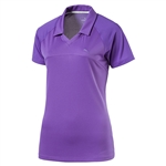 Puma Mesh Back Golf Polo - Royal Purple