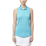 Puma Racerback Blue Atoll Sleeveless Golf Polo