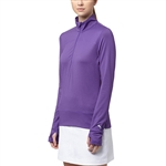 Puma 1/4 Zip Golf Popover - Royal Purple