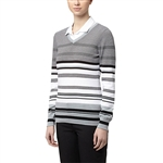 Puma Depths V-Neck Golf Sweater - Cotton Black