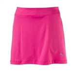 Puma Solid Knit Golf Skort - Shocking Pink