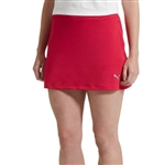 Puma Solid Knit Golf Skort - Love Potion