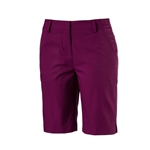 Puma Pounce Bermuda Golf Short - Dark Purple