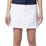 Puma Pounce Button Golf Skirt - White