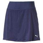 Puma PWRSHAPE Solid Knit Golf Skort - Peacoat