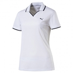 Puma Pique Golf Polo - White