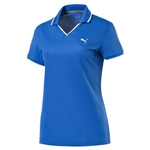 Puma Pique Golf Polo - Nebulas Blue