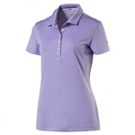 Puma Pounce Short Sleeve Golf Polo - Purple Rose