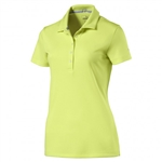 Puma Pounce Short Sleeve Golf Polo - Sunny Lime