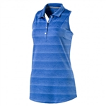 Puma Racerback Sleeveless Golf Polo - Nebulas Blue