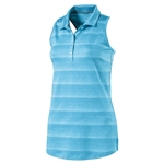 Puma Racerback Sleeveless Golf Polo - Aquarius