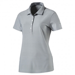 Puma Pounce Aston Short Sleeve Golf Polo - Quarry