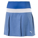 Puma PWRSHAPE Pleated Golf Skort - Nebulas Blue