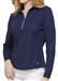 GG Blue Ellen Long Sleeve Navy Mock