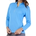 GG Blue Ellen Long Sleeve Mock - Caribbean