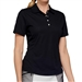 GG Blue Tina Short Sleeve Golf Polo - Black