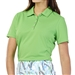 GG Blue Tina Short Sleeve Golf Polo - Turtle