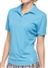 GG Blue Tina Short Sleeve Basin Blue Golf Polo