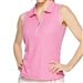 GG Blue Katy Sleeveless Golf Polo - Rosé Dot