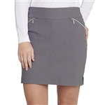 GG Blue Fab Fit Golf Skort - Smoke
